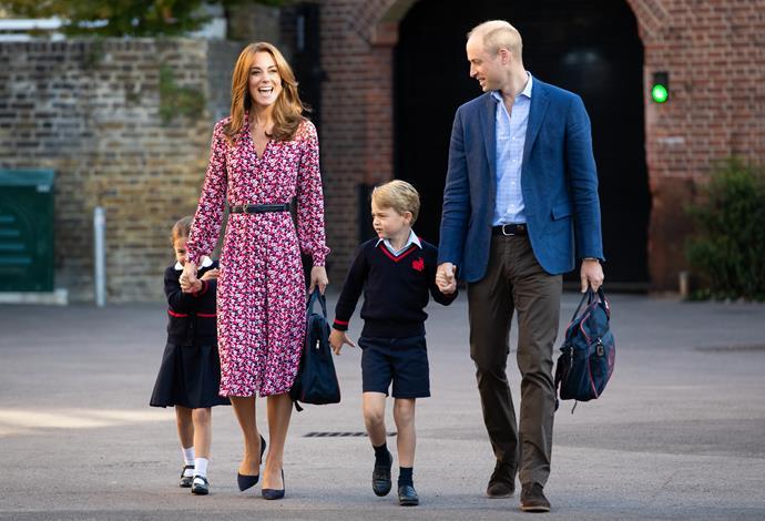 Prince George looks just like his mum, Duchess Catherine.