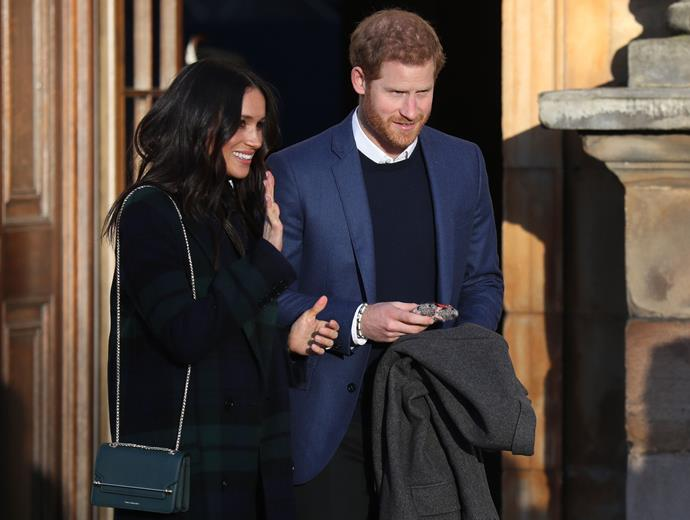 Meghan and Harry's titles still remain a question mark.