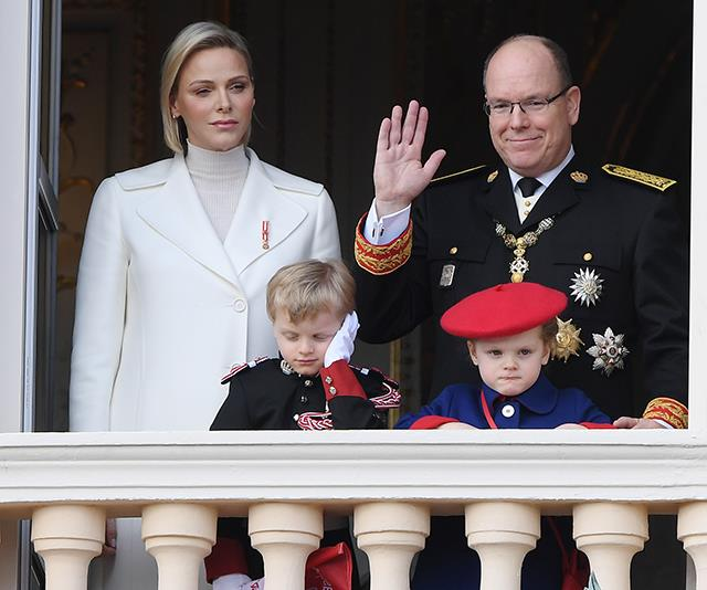 The Monaco Royal Family's Christmas Card For 2019 Revealed