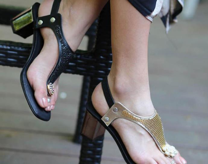 Kuoco interchangeable heel packages range in price from $169.00.
