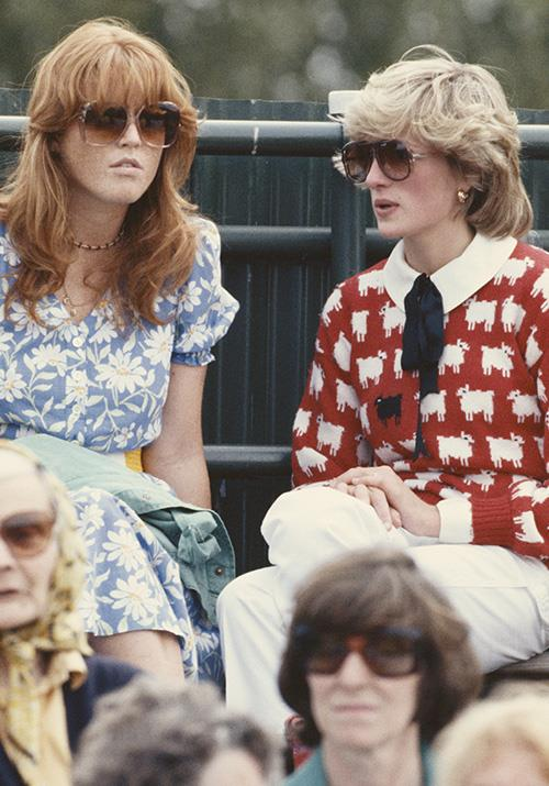 "That same year, Lady Di opted for a quirky [sheep-clad red knit](https://www.nowtolove.com.au/royals/british-royal-family/the-crown-season-4-prince-william-60633|target=""_blank"") as she casually yarned with in-law Sarah Ferguson."