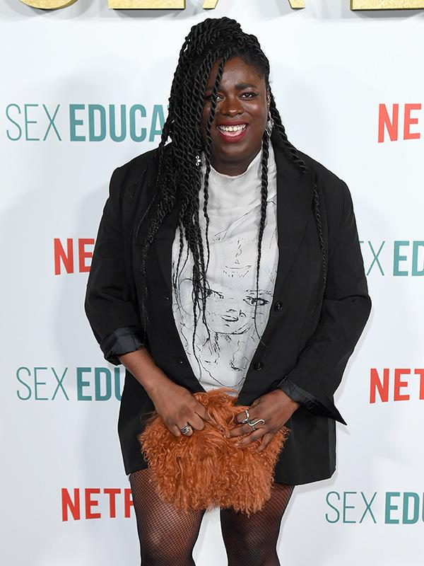 Chinenye rocking the red carpet at the recent premiere of season 2 in London.
