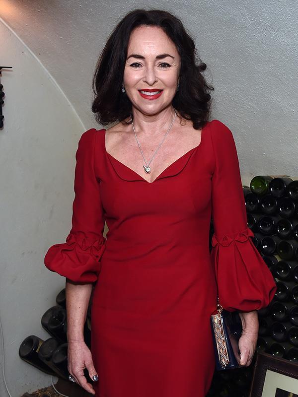 Samantha Spiro plays Maureen Groff, Adam's long-suffering mother.