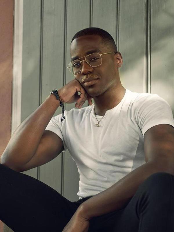 The fabulous Eric is played by Ncuti Gatwa, a Scottish-Rwandan actor.
