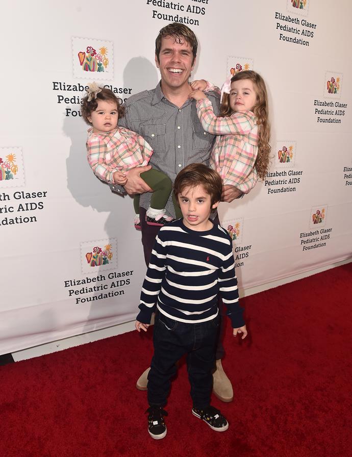 Perez has three kids under the age of six!