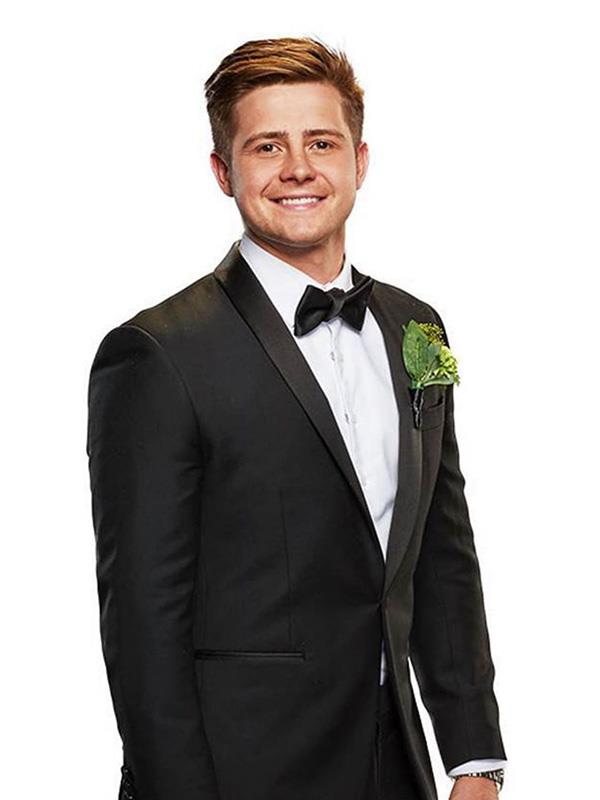 Mikey all buttoned up for his official *MAFS* promo pics.