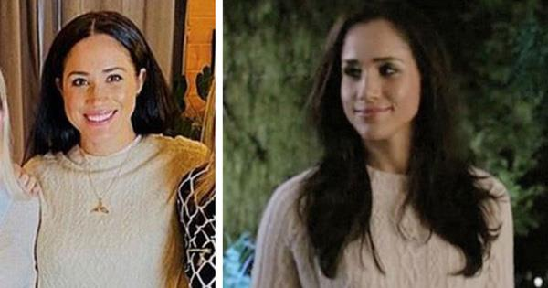 Meghan Markle's cable jumper was from her 'Suits' days | OK! Magazine
