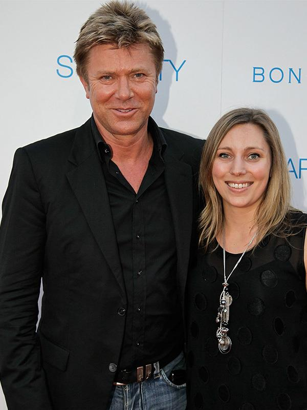 Richard and his eldest daughter Rebecca, pictured in 2010.