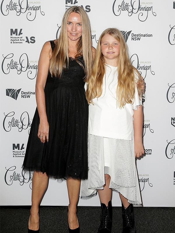 Collette and Estella Dinnigan pictured at an event in 2015.