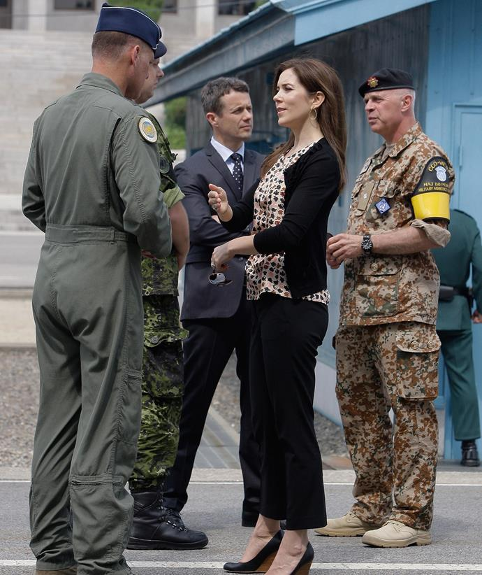 Prince Frederik and Princess Mary have stepped up security at all their residences.