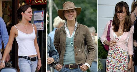Kate Middleton young: All her best fashion moments | OK! Magazine