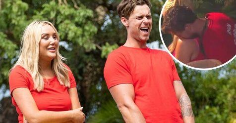 I'm a Celeb's Ryan and Charlotte had sex behind a toilet | NW