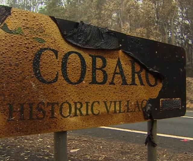 Cobargo suffered devastating losses in the recent bushfires.