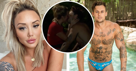 I'm A Celeb 2020: Charlotte Crosby and Ryan Gallagher kiss | Now To Love