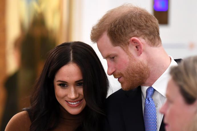 The Queen issued a rare personal statement about Harry and Meghan just hours before stepping out with her son.