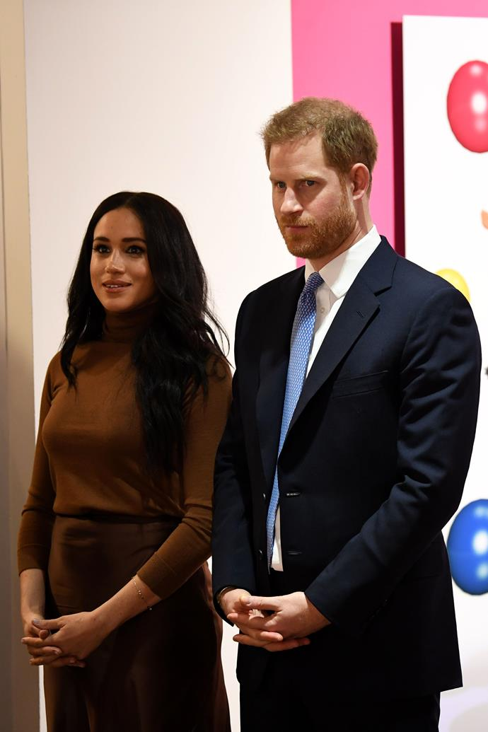 Harry has issued a rare personal statement about his and Meghan's decision to step back.