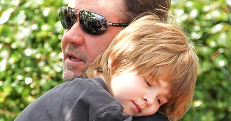 Russell Crowe on being a divorced Dad and not seeing his children | Now To Love