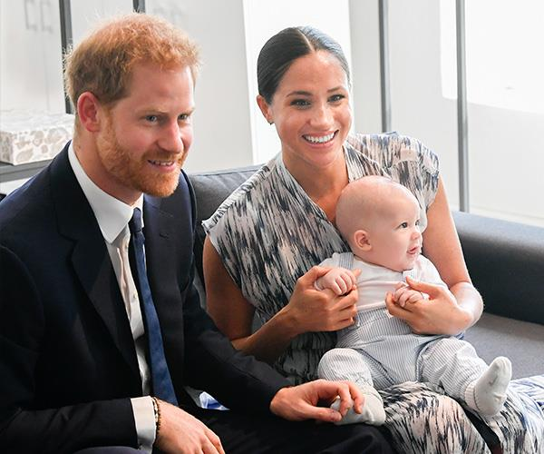 Harry was very excited to introduce Meghan and Archie to Africa.