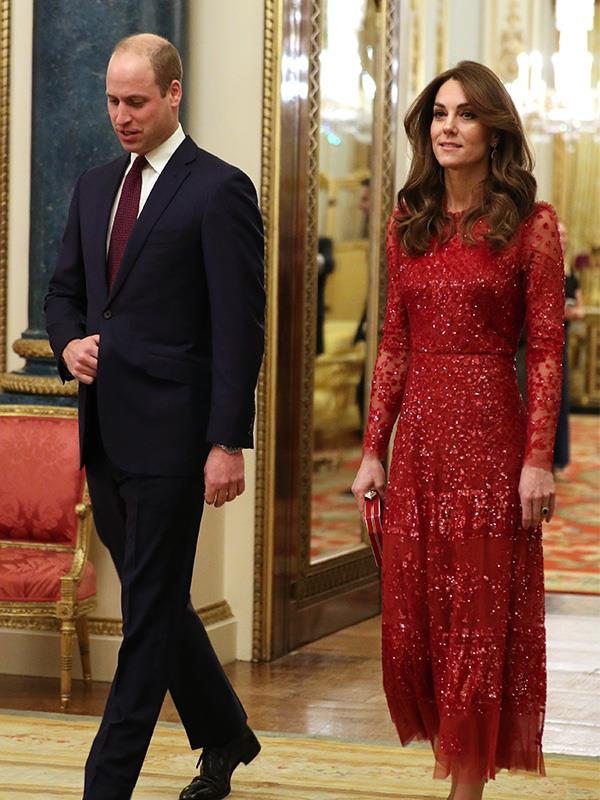 William and Kate looked regal during the official Palace event.