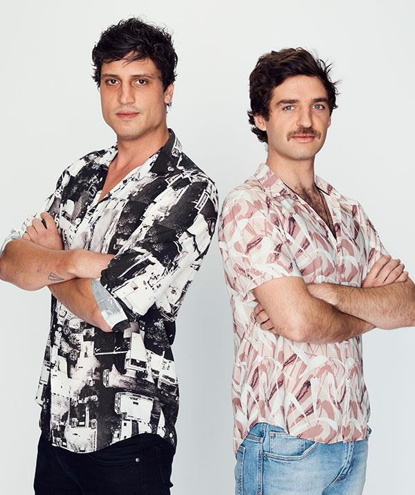 """**Ben and Vasil, Melbourne, VIC** <br><br> These single bartenders will cause more than a stir when they get to the *MKR* table. Keep an eye on these flirty fellas!   <br><br> """"These guys are dark horses,"""" Colin hints. """"People write them off, but they come very good."""""""