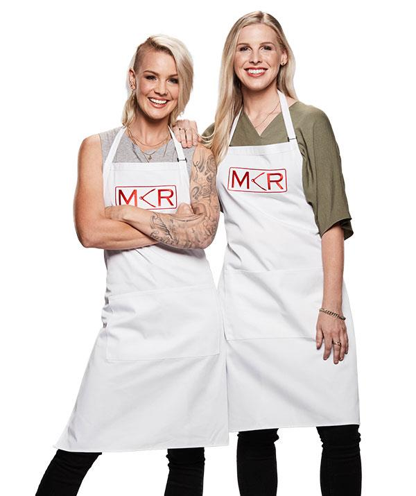 """**Kerry and Kaylene, Karratha, WA / Sunshine Coast, QLD** <br><br> Fighting fit is an accurate description for these ex-army sisters in the kitchen. <br><br> """"Kerry and Kaylene have their eye on the prize,"""" Colin says. """"They encouraged others to do well."""""""