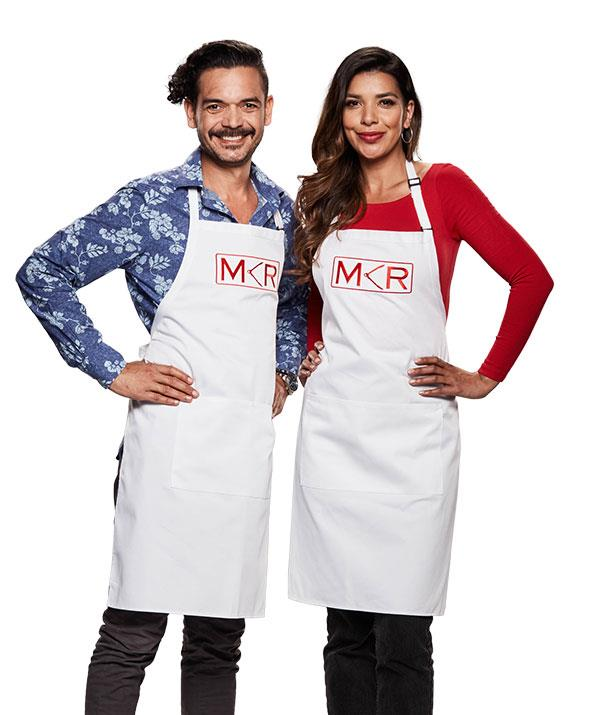 """**Mark and Lauren, Melbourne, VIC** <br><br> The card-playing siblings don't have much of a poker face when tensions reach boiling point! <br><br> """"They produce some outstanding dishes,"""" Colin says. """"But also have some of the biggest arguments."""""""