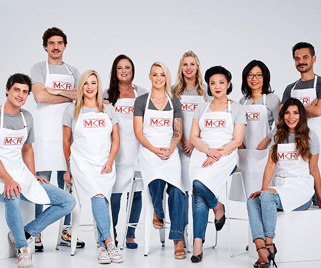**MKR fans** <br><br> Colin Fassnidge is leading the Fans team, who all have a point to prove.