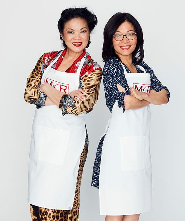 """**Sue Ann and Sylvia, Melbourne, VIC** <br><br> This pair might not let the other contestants get a word in edgewise.  <br><br> """"Sue Ann and Sylvia are lunatics!"""" Colin jokes of the friends. """"But their dishes and techniques were fantastic."""""""