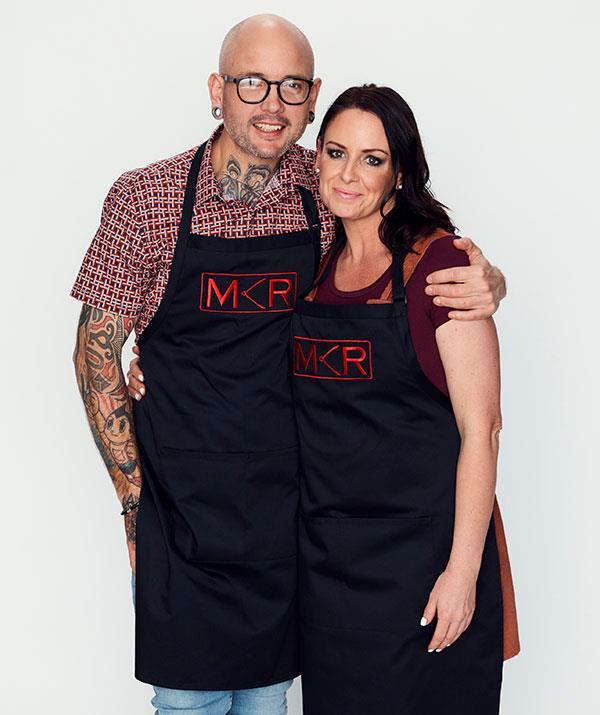 """**Dan and Steph, Hervey Bay, QLD** <br><br> The [husband-and- wife pair](https://www.nowtolove.com.au/reality-tv/my-kitchen-rules/mkr-dan-steph-weight-loss-62192
