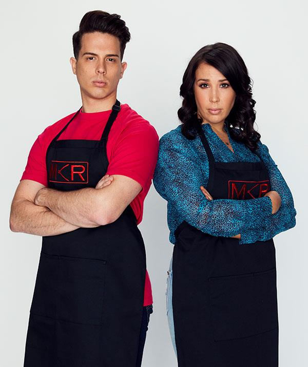 """**Jake and Elle, Brisbane, QLD** <br><br> The season-four grand finalists are back to claim the prize Dan and Steph snatched from their grasp in the finale.  <br><br> """"They've matured,"""" Manu says. """"They've been running a restaurant and got more experience."""""""
