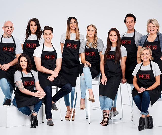 **MKR faves** <br><br> The newbies will up against some old favourites from *MKR*, who will be mentored by Manu Feildel.