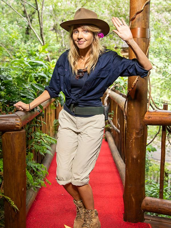 **Nikki Osborne** <br><br> The actor and comedian was the second person to be voted out of the jungle.