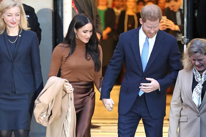 As Meghan and Harry step back, another royal couple step forward.