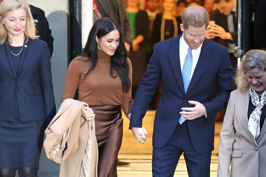 As Meghan and Harry step back, another royal couple step forward. *(Image: Getty)*