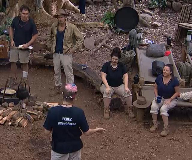 The I'm A Celeb contestants were left shocked.