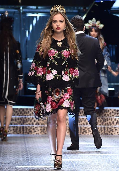 Our favourite unsung royal fashion icon Lady Amelia Windsor is a front-row regular at elite fashion shows a-plenty - but she's also tried her hand on the other side too. In 2017, she walked in a Dolce & Gabbana show at Milan Fashion Week.