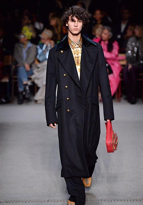 Prince Nikolai of Denmark is also fast making a name for himself as a legit male model. One of his first big gigs was the above Burberry Prorsum show at London Fashion Week in 2018.