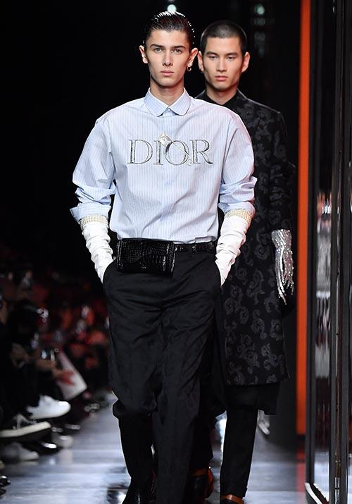 Most recently, he walked again at the latest Dior Homme show at Paris Fashion Week in January 2020.