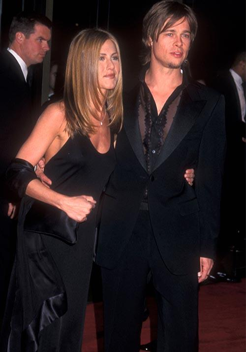Seriously, the world was not even *ready* for the Hollywood power couple that was to be. Brad was already in the throes of big-time movie-stardom , while Jennifer was absolutely slaying the small-screen as the iconic Rachel Green on *Friends*. A match made in heaven, some would say.