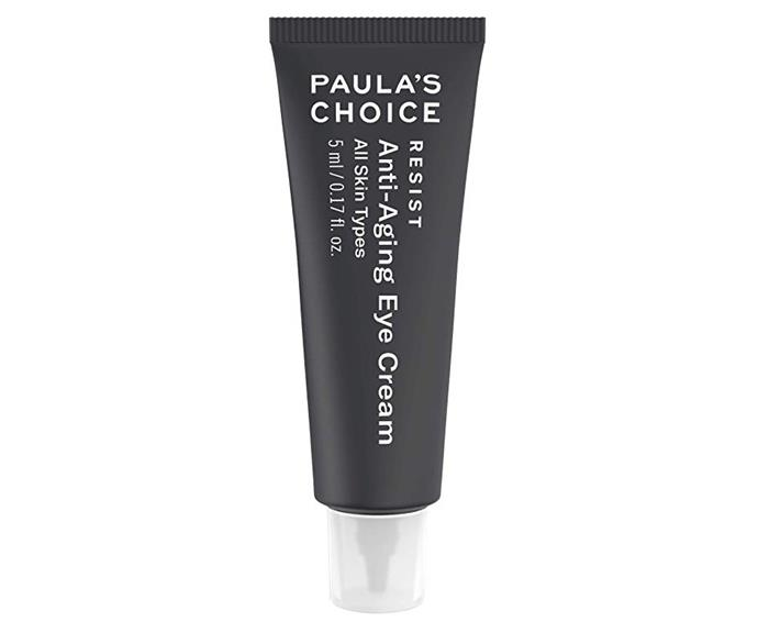 "$20 from the [Paula's Choice website](https://www.paulaschoice.com.au/resist-anti-aging-eye-cream/790-7907.html?|target=""_blank""