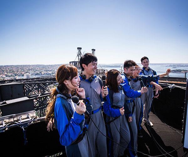 Sing on top of the harbour bridge Photo credit:Ben Cirulis