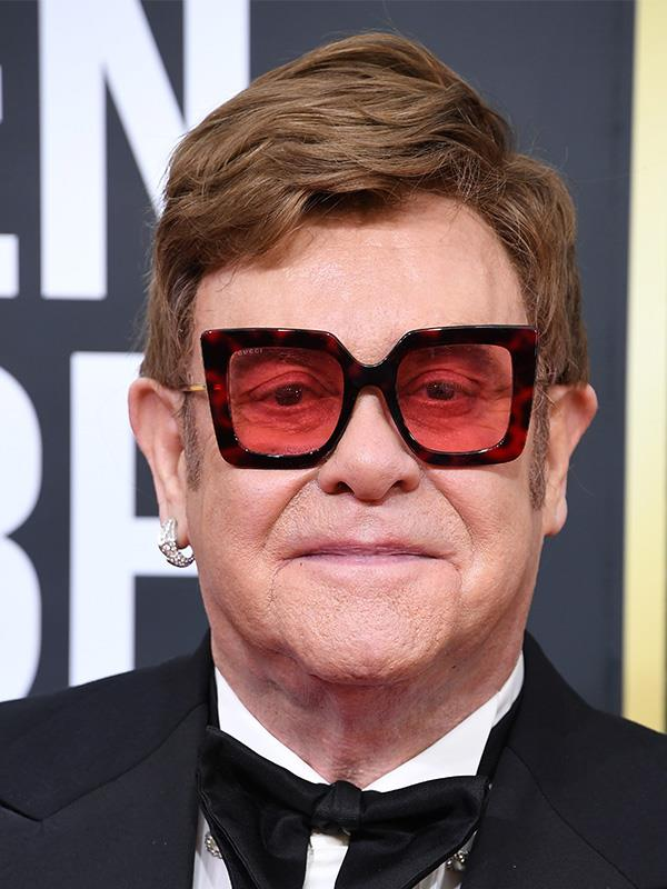 **Elton John** <br><br> The hit songmaker has been sober for years, following his well-documented troubled past with substance abuse.