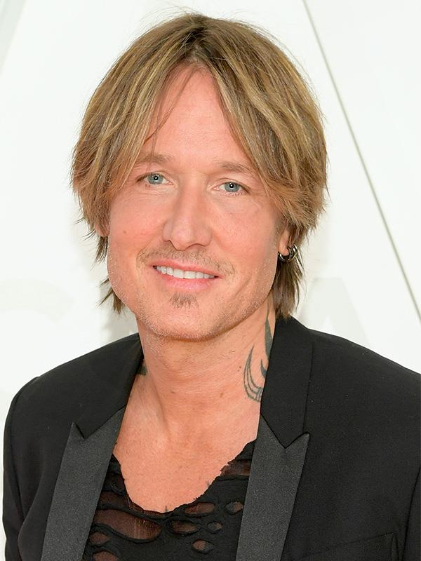 **Keith Urban** <br><br> The country music star and husband of Nicole Kidman used to be addicted to alcohol, but is now totally sober and a complete family man, devoted to his wife and their two daughters, Sunday Rose and Faith Margaret.