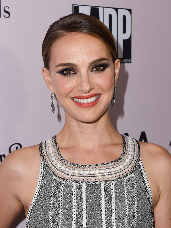 "**Natalie Portman** <br><br> Portman opened up about drinking when she was in college, but has since stopped completely. <br><br> ""I didn't really go to high school parties, and yeah, I didn't touch pot till I was in my 20s... I didn't get flat-out drunk until I went to college. But I think that's a good thing in many ways."""