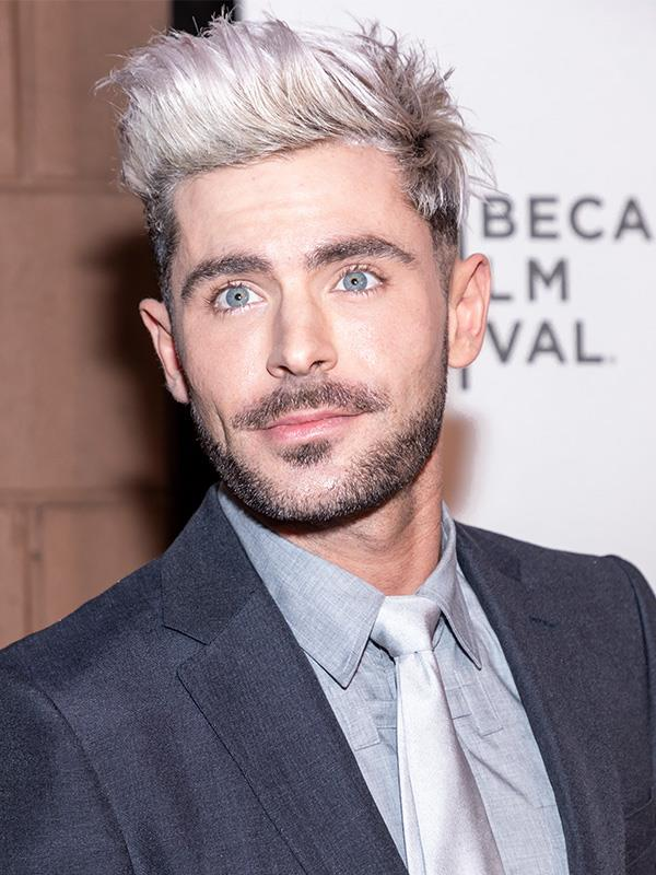 "**Zac Efron** <br><br> The *High School Musical* hunk says going sober changed his life, after struggling with alcohol and drug addiction for years.  <br><br> He told *[Elle](https://www.elle.com/culture/celebrities/news/a35753/zac-efron-cherchez-la-femme-2016/|target=""_blank""