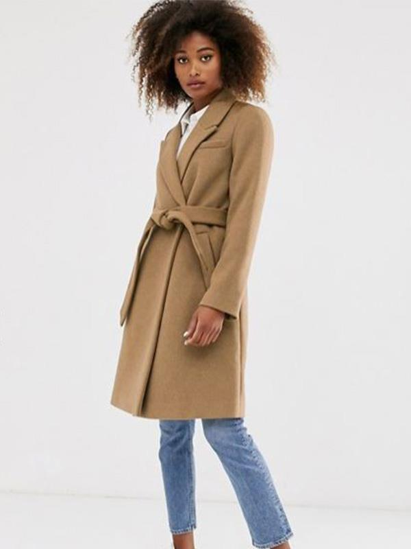 "Here's another winner from Stradivarius. A belted coat like this $140 one from [ASOS](https://www.asos.com/au/stradivarius/stradivarius-tailoring-coat-with-belt-in-camel/prd/13107622?clr=camel&colourWayId=16463686&SearchQuery=camel%20coat|target=""_blank""