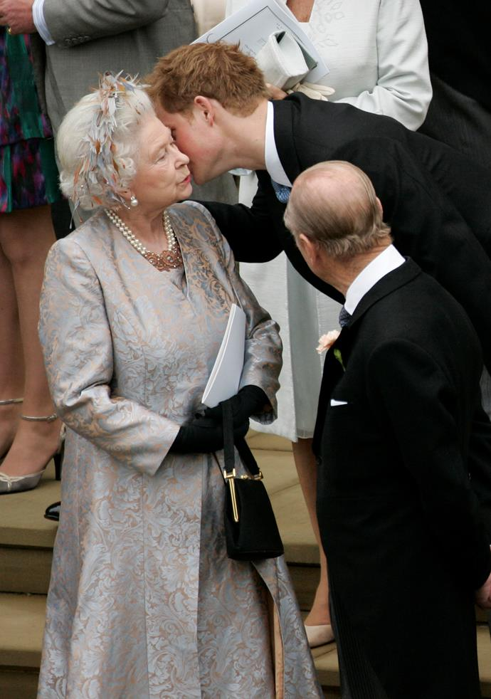 We love that Prince Harry isn't afraid to show affection.