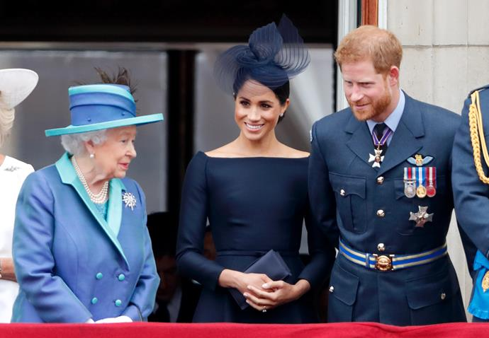 When Duchess Meghan was formally welcomed into the fold, the Queen made sure to make her feel like one of the family.