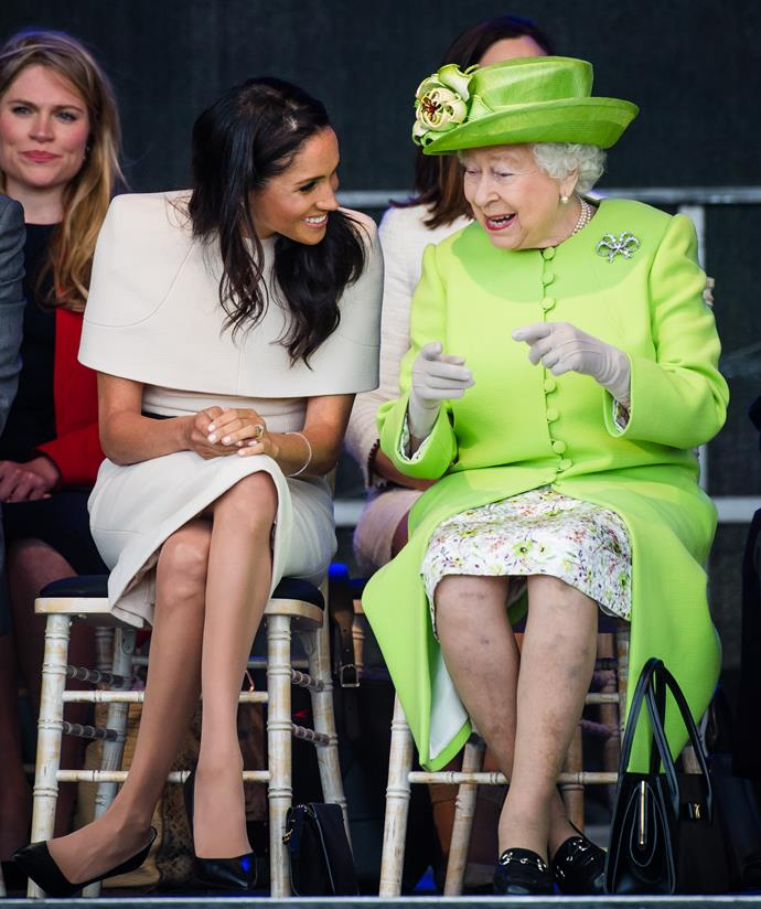 She even took the newly appointed Duchess of Sussex on a rare outing without Prince Harry.