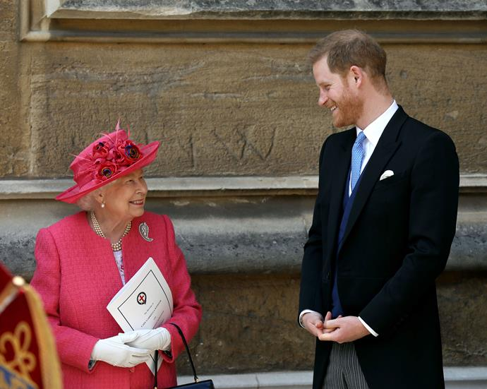 No matter his royal status, Prince Harry will always be her grandson.